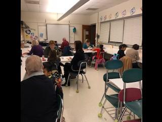 SOAR Tutoring started after school at NCE last week!  Thank you Chatham Education Foundation! / La tutoría SOAR empezó la semana pasada! Gracias a la Fundación de Educación de Chatham!
