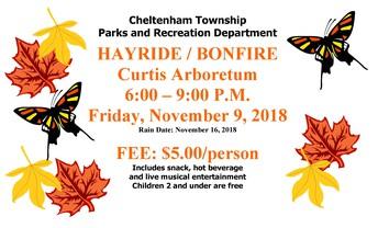 Cheltenham Township Hayride/Bonfire