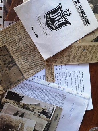 DO YOU HAVE A PIECE OF HISTORY AT HOME?? THE MMPS ARCHIVES