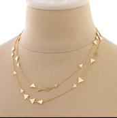 Alexia necklace-Gold