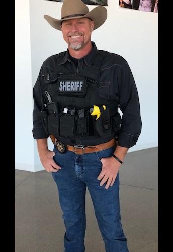 Sheriff Lamb visits CHS