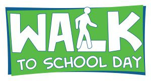 Walk to School Day--October 10th!