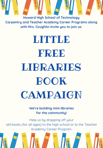 Little Free Library Book Campaign