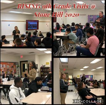 Rising 9th Grade Visits