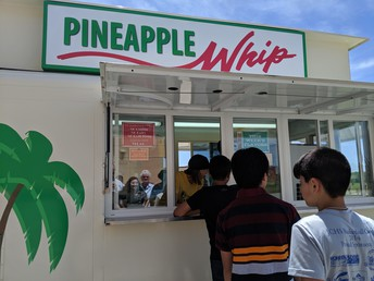 Pineapple Whip!! Yummy!