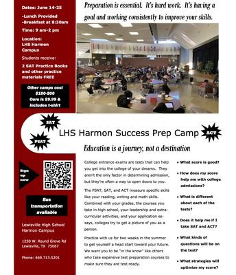 LHS Harmon Success Prep Camp
