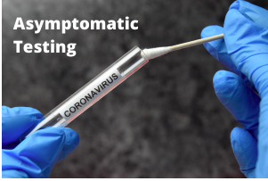 ASYMPTOMATIC COVID TESTING AVAILABLE TO STUDENTS