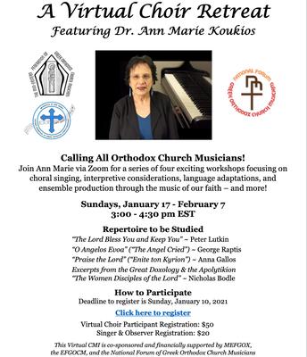 A Virtual Choir Retreat