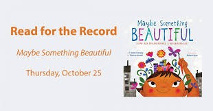 Read for the Record 2018 - News from our Media Specialist - Mrs. Lisa Breen