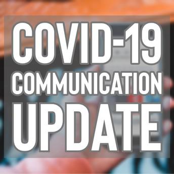COVID-19 communication graphic