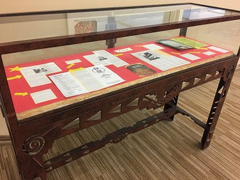 Acupuncture Display in Library