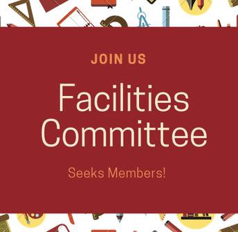 Seeking Members for Facilities Advisory Committee