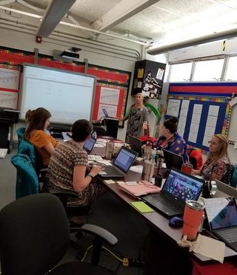 Teacher PLCs with Christine Busenbark!