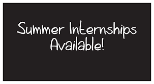 Summer Internship Opportunities