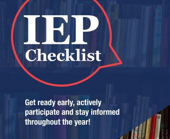 IEP Checklist from WIFACETS.ORG