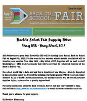Back- to- school fair