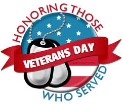 Wednesday, November 11: No School in Celebration of Veteran's Day!