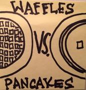 Waffles Vs Pancakes