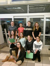 Great Job St. Clare Forensics Students!