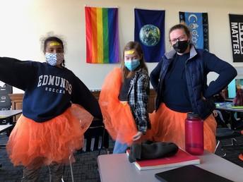 Edmunds Celebrates  Bullying Prevention, #BLUEUP !
