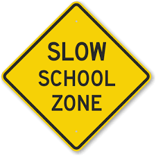 School Zone Signage Plans for Greenlodge