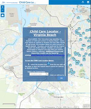 VB Schools Child Care Locator
