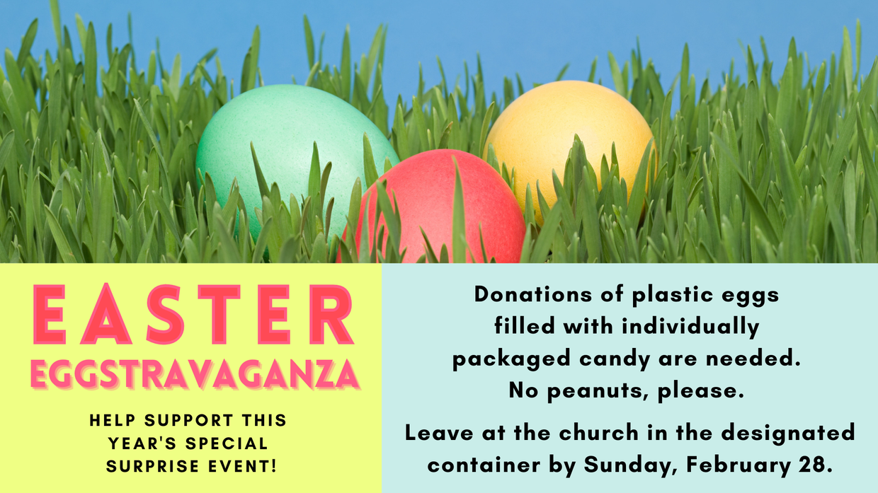 Easter Eggstravaganza Candy Egg Donations