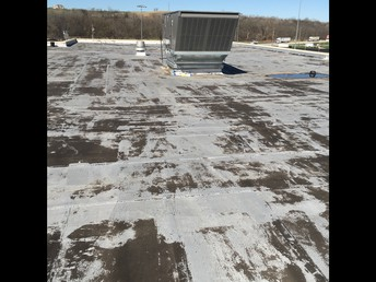 West Campus Roof Before Capital Outlay Levy Passed