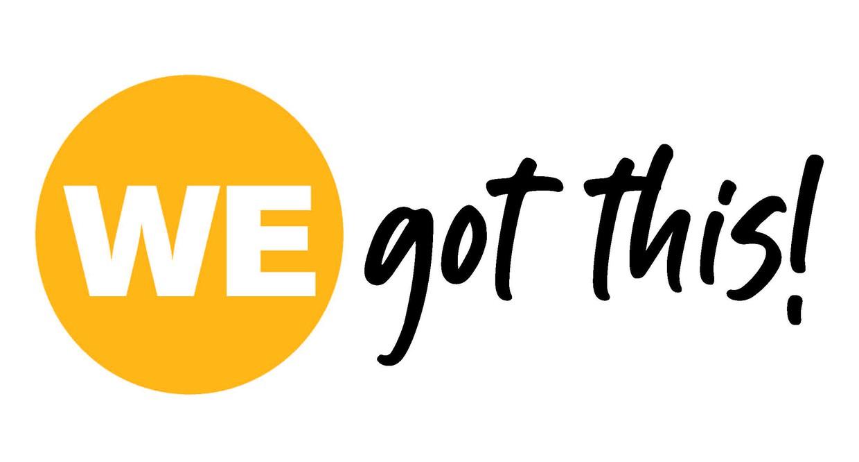 WE got this! logo
