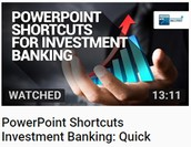 PowerPoint Shortcuts for Investment Banking