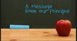 A message from Mrs. Rahne