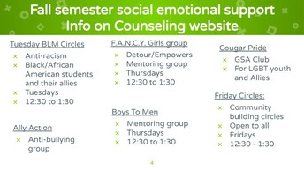Counseling Resources!