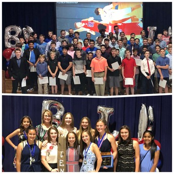 Girls and Boys Athletic Banquets