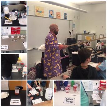 Mr. Iachello's Spooky Lab