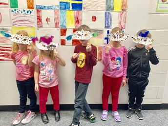 Students Create Masks!