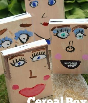 Cereal Box Portraits