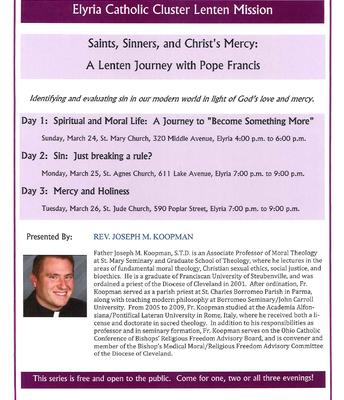 Elyria Catholic Cluster Lenten Mission