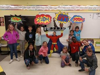 4th grade SUPER HEROES