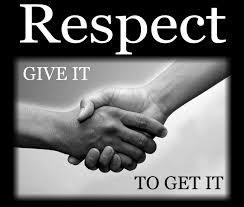 Be Respectful In School