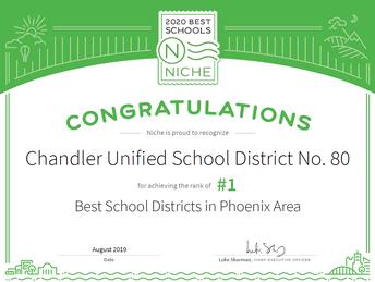 2020 Best School Districts