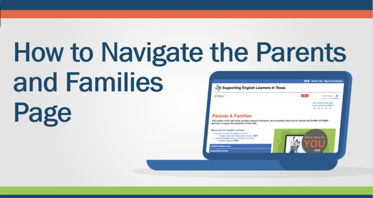 Link to video: How to Navigate the Parents and Families page