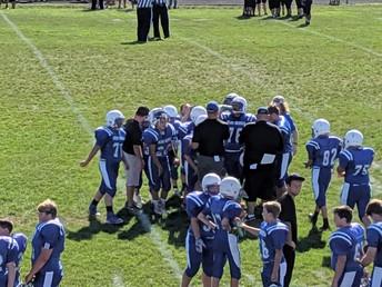 8th Grade Football Defeats Logan