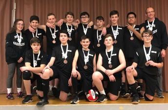 Grade 9 Boys' Volleyball