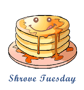 SHROVE TUESDAY PANCAKES!