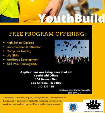 YouthBuild Recruiting Students!