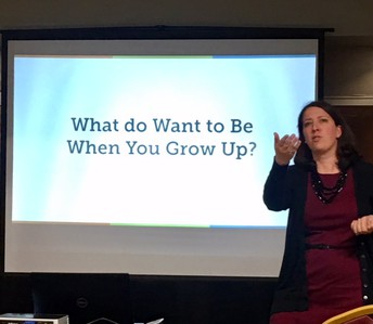 "College & Career Readiness:  ""What Do  You Want to Be When You Grow Up?"""