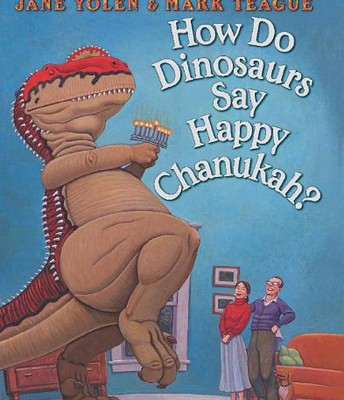 How do Dinosaurs say Happy Happy Chanukuh?