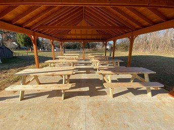 Inside the outdoor classroom