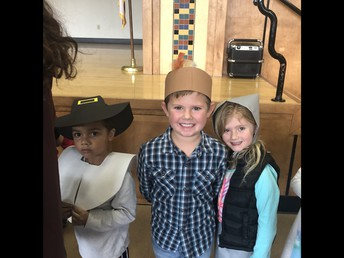 Happy Kinders after their performance