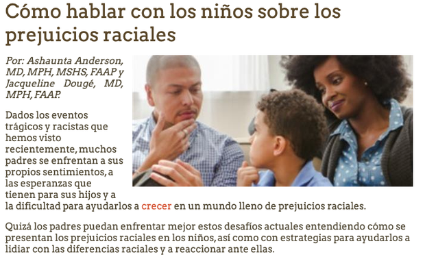 https://www.healthychildren.org/Spanish/healthy-living/emotional-wellness/Building-Resilience/Paginas/talking-to-children-about-racial-bias.aspx